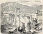 Most Alcantara — Zdjęcie stockowe