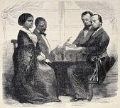 Negro wedding — Stock Photo