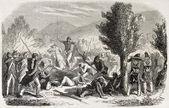 Volturnus ビスの戦い — ストック写真