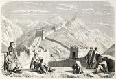 Grande Muralha da china — Fotografia Stock