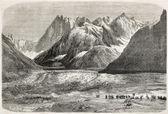 İmparatorluk çift üzerinde mont blanc — Stok fotoğraf