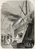 Marsiglia imbarco — Foto Stock
