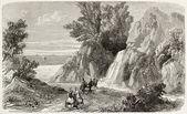 Arethusa fountain — Stock Photo