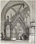 Sainte-Genevieve tomb — Stock Photo