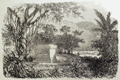 Mouhot tomb — Stock Photo