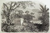 муо гробница — Стоковое фото