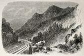 Kolej w pobliżu forneaux — Zdjęcie stockowe