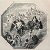 Triumph of Louis XIV — Stock Photo