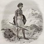 ������, ������: Ababda warrior