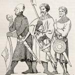 soldados medievales — Foto de Stock