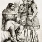 Постер, плакат: Charlemagne soldiers