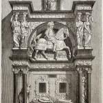 Louis de Breze tomb — Stock Photo