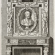 Villeroy fireplace — Stock Photo #13305193