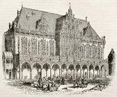 Bremen Town hall — Stok fotoğraf