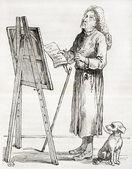 Critico d'arte — Foto Stock