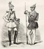 Pruský uniformy — Stock fotografie