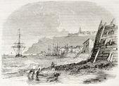 Гранвилл морской порт — Стоковое фото