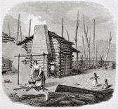 Pioneers hut — Stock Photo