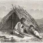 Chimehwhuebes hut — Stock Photo