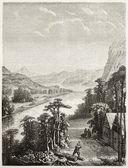 Fluss amur — Stockfoto