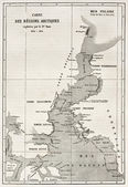 Kennedy kanálu mapa — Stock fotografie
