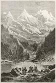 Lac des Arcs — Stockfoto