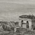 Ephesus gymnasium ruins — Stock Photo