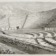 Pompeii small theater — Stock Photo