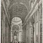 Basilica interior — Stock Photo