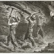 Stock Photo: Coal miners