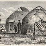 ������, ������: Kalmyk camp