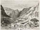 Fezzan landscape — Stock Photo