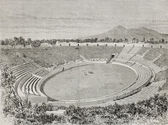 Pompeii amphitheatre — Stock Photo