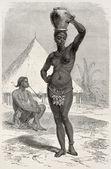 Obbos dziewczyna — Zdjęcie stockowe