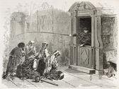 Sakrament pokuty i pojednania — Zdjęcie stockowe