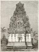 Pondicherry portico — Stock Photo