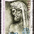 Stock Photo: Aeneas postage stamp