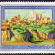 orvieto postage stamp — Stock Photo