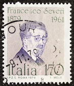 Francesco Severi postage stamp — Stock Photo