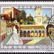 Udine postage stamp — Stock Photo