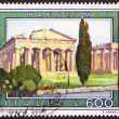 Stock Photo: Paestum postage stamp