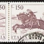 Постер, плакат: Vittore Carpaccio postage stamp block