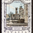 Stock Photo: FontanPacassi postage stamp