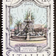 Fontana della Palma postage stamp — Stock Photo