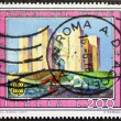 Castel del Monte postage stamp — Stock Photo