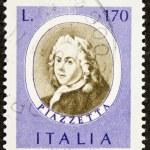 Постер, плакат: Piazzetta postage stamp