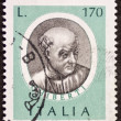 Stock Photo: Ghiberti postage stamp