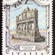 Fontana Antica postage stamp — Stock Photo