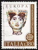 Briefmarke der italienischen handwerk — Stockfoto