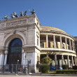 Politeama Garibaldi theater bis — Stock Photo